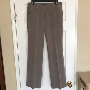 NY & Co Suiting Collection, brown pants, Sz 4/ Avg